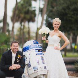 R2D2 Wedding