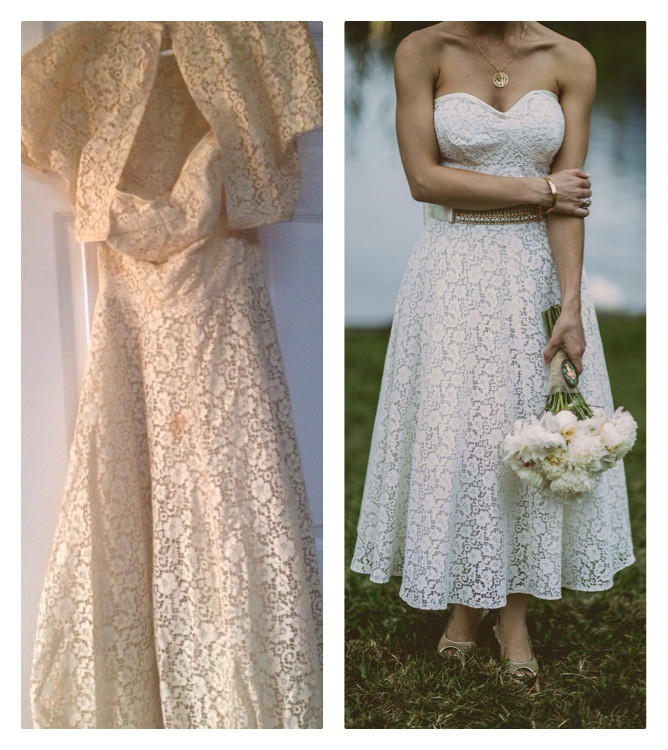 Clean a vintage wedding dress a host of things for Restoring old wedding dresses