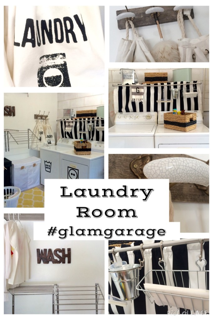 Laundry Room Collage