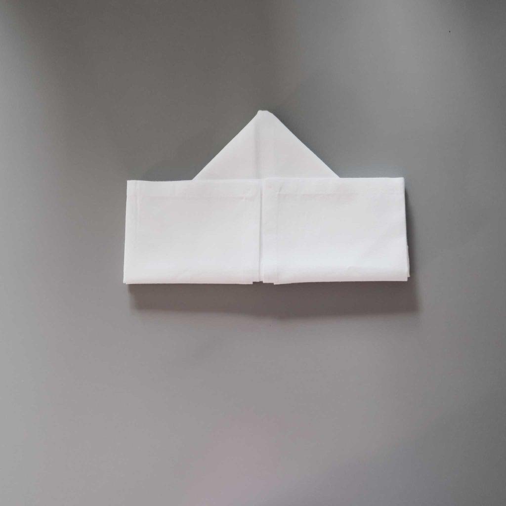 Sailboat Napkin Folding