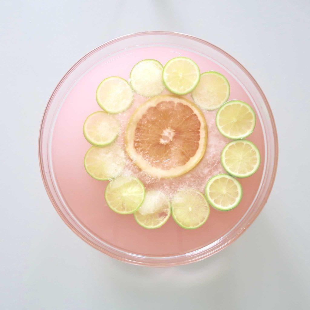 Floating Flower Lemonade