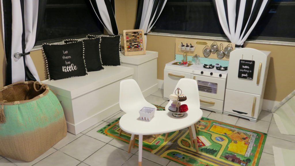 Playroom Ideas and DIY Kid Kitchen - A Host of Things