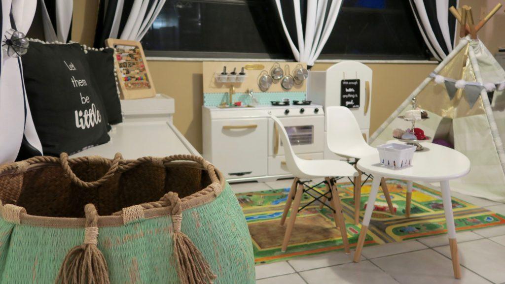 Playroom Ideas and DIY Kid Kitchen
