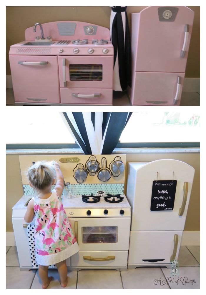 DIY Kid Kitchen