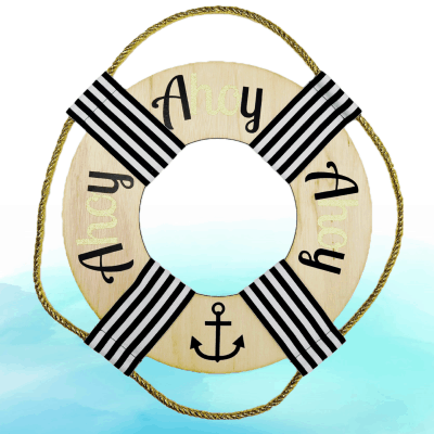 A Host of Things Ahoy Wreath