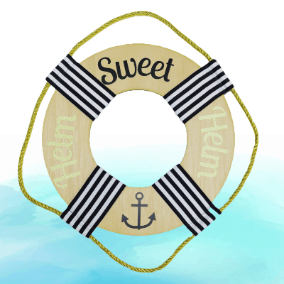 A Host of Things Helm Sweet Helm Wreath