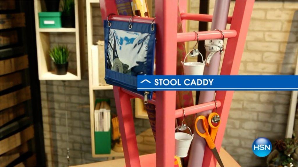 Bar Stool Caddy DIY A Host of Things