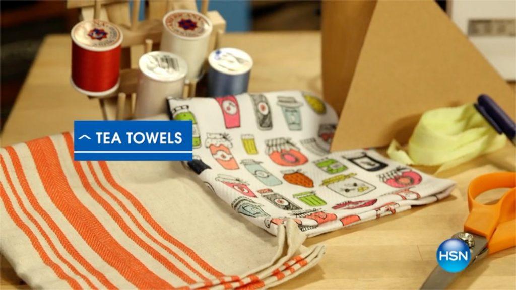 Tea Towel Banner DIY A Host of Things