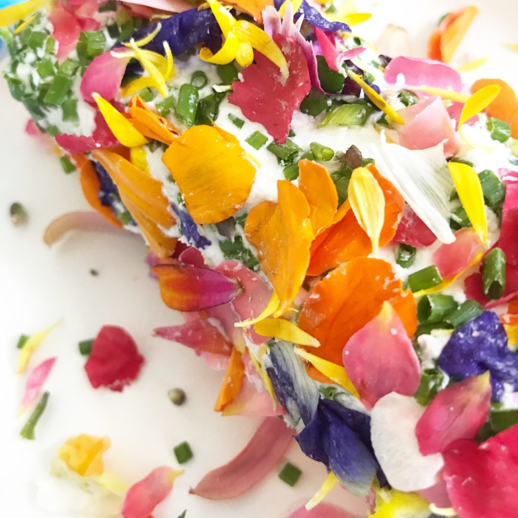 Edible Flowers A Host of Things
