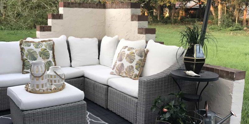 Our Outdoor Oasis- A Host of Things