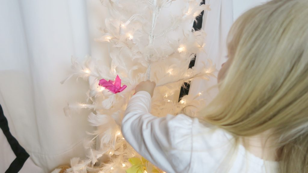 Children's Christmas Tree-Using 3 Items You Already Have