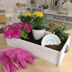 A Host of Things Old Drawer Garden Planter DIY