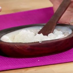 DIY Salt Scrub