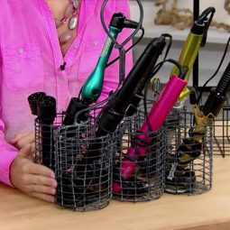 Wine Caddy Hot Tool Holder
