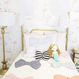 A Host of Things Flamingo Bedroom