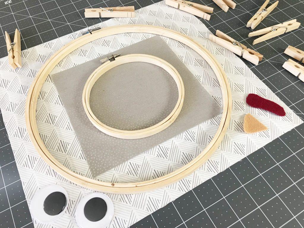 Embroidery Hoop Turkey DIY A Host of Things