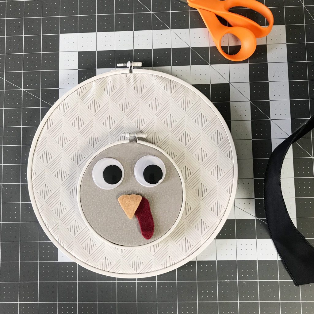 Embroidery Hoop Turkey DIY A Host of Things