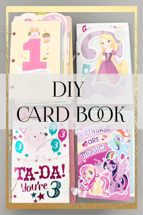 DIY Card Book