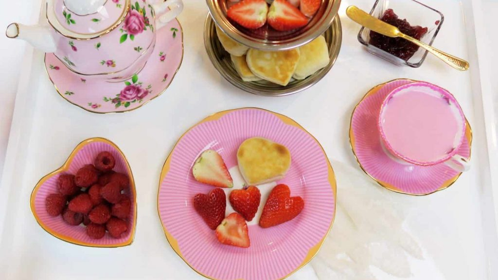 A Host of Things Valentine's Day Tea Party